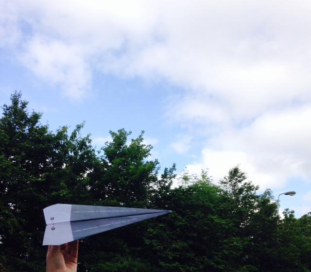 bray air paper plane aertv